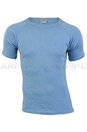 Danish Military Trening Blue T-shirt Original New