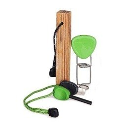 SET Fire Lighting Kit 3-częściowy Light My Fire GREEN - NEW